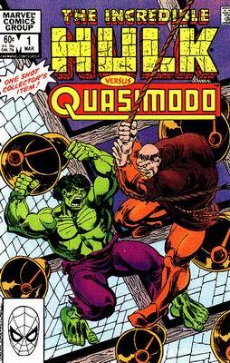 Incredible Hulk versus Quasimodo Vol 1 1