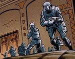 International Criminal Police Organization (Earth-7642) from Batman and Spider-Man Vol 1 1 001