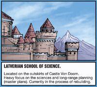 Latverian School of Science from Inhumanity The Awakening Vol 1 2 001
