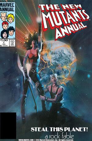 New Mutants Annual Vol 1 1