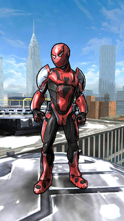 Peter Parker (Earth-TRN500) from Spider-Man Unlimited (video game) 001