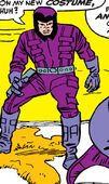 Peter Petruski (Earth-616) first Trapster costume from Fantastic Four Vol 1 38