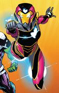 Riri Williams (Earth-616) from Champions Vol 2 22 cover 001