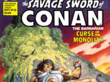 Savage Sword of Conan Vol 1 33