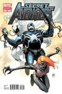 Secret Avengers Vol 1 21 Venom Variant