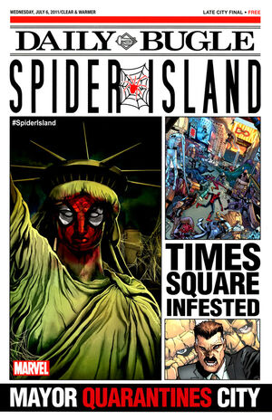 Spider-Island Daily Bugle Vol 1 1