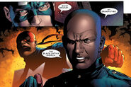Steven Rogers (Earth-616), Isaiah Bradley (Earth-616) and Elijah Bradley (Earth-616) from Young Avengers Vol 1 3 0001