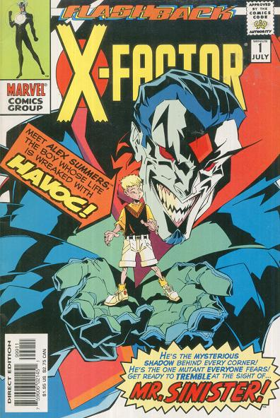 Image result for Flashback: X-Factor #1