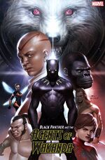 Black Panther and the Agents of Wakanda Vol 1 1 Lee Variant