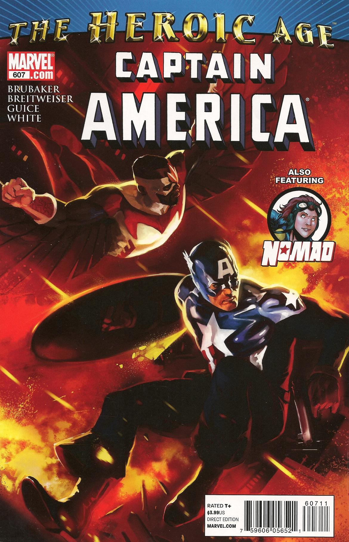 captain america vol 1 607 | marvel database | fandom poweredwikia