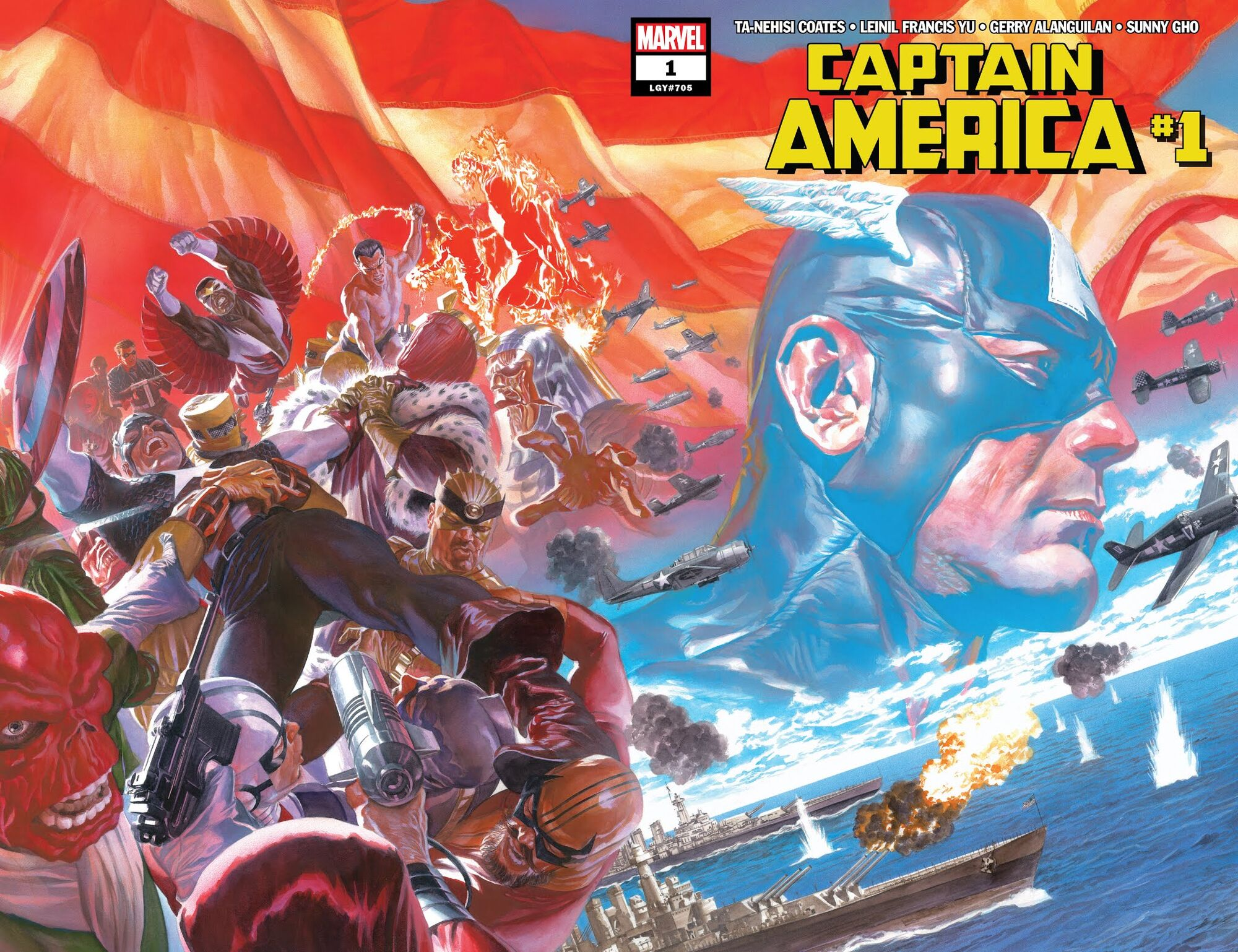 Image result for captain america #1 july 4 2018