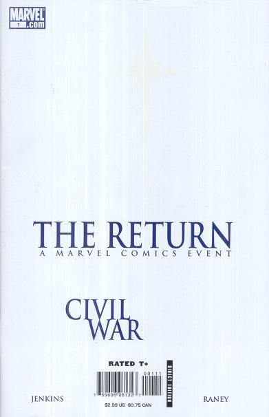 Civil War The Return Vol 1 1