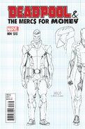 Deadpool & the Mercs for Money Vol 1 4 Design Variant