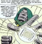 Doctor Doom's Armor, Instant Hypnotism Impulser, Victor von Doom (Earth-616) from Fantastic Four Vol 1 40