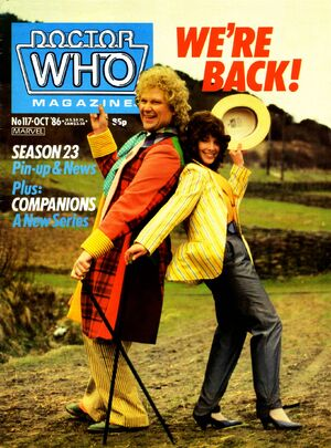 Doctor Who Magazine Vol 1 117