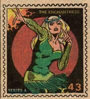 Enchantress Marvel Value Stamp