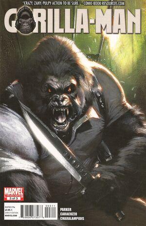 Gorilla Man Vol 1 3