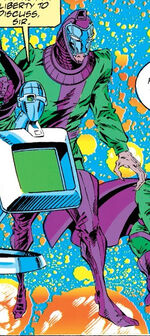 Nathaniel Richards (Kang) (Earth-Unknown) from Avengers The Terminatrix Objective Vol 1 1 0001