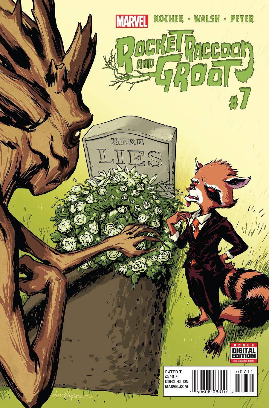 Rocket Raccoon And Groot Vol 1 7 Marvel Database