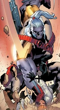 Scattershot (Mojoverse) vs Gaveedra Seven (Mojoverse) from X-Factor Vol 1 235 001