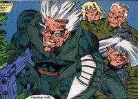 Skin Posse (Earth-928) Punisher 2099 Vol 1 1