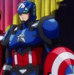 Steven Rogers (Earth-14042) from Marvel Disk Wars The Avengers Season 1 1 001