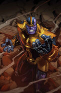Thanos Annual Vol 1 1 Textless