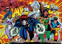 X-Men (Earth-928) from X-Men 2099 Vol 1 1 0001