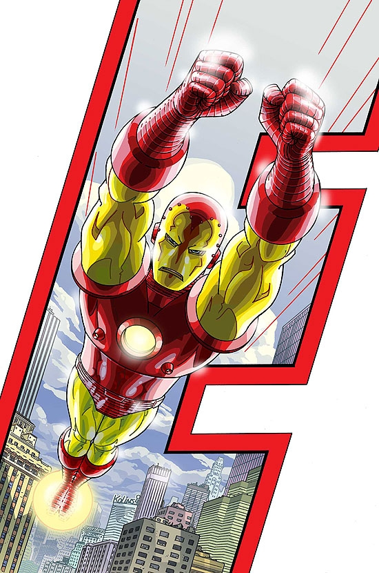 Avengers Earth's Mightiest Heroes Vol 1 3 Textless