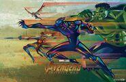 Avengers Infinity War Fandango poster 003
