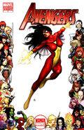 Avengers Vol 4 4 Women of Marvel Variant