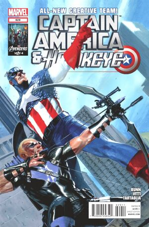 Captain America and Hawkeye Vol 1 629