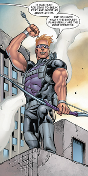 Clinton Barton (Earth-616) from Harley-Davidson - Avengers Vol 1 1 001
