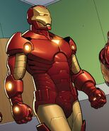 Iron Man Armor Model 25 from Invincible Iron Man Vol 3 4 001