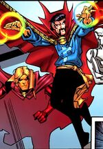 Stephen Strange (Earth-90266) from What If Newer Fantastic Four Vol 1 1 0001