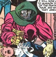 Susan Storm, Victor von Doom (Earth-616) from Fantastic Four Vol 1 287