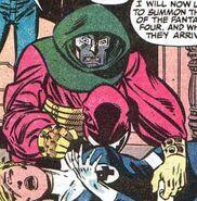 Susan Storm, Victor von Doom (Earth-616) from Fantastic Four Vol 1 287