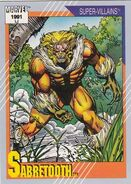 Victor Creed (Earth-616) from Marvel Universe Cards Series II 0001