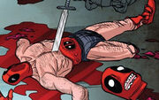 Wade Wilson (Earth-Unknown) from Deadpool Kills Deadpool Vol 1 4 0028