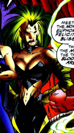 Bliss (Earth-928) from X-Men 2099 Vol 1 12 0001