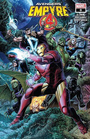 Empyre Avengers Vol 1 0