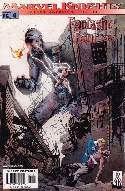 Fantastic Four 1 2 3 4 Vol 1 4