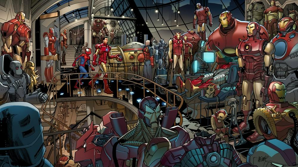 Logan De Suits >> Iron Man Armor (Earth-1610) | Marvel Database | FANDOM powered by Wikia