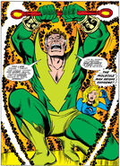Molecule Man possessing Reed Richards from Fantastic Four Vol 1 187