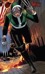 Rogue (Anna Marie) (Earth-13133) from Uncanny Avengers Vol 1 13 001