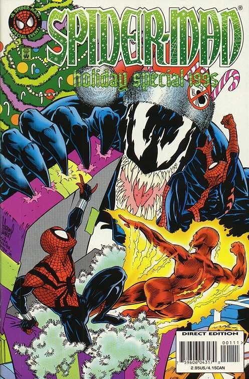 Spiderman Christmas.Spider Man Holiday Special Vol 1 1995 Marvel Database