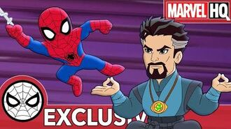 Spidey Does Sorcerer Spring Cleaning! Marvel Super Hero Adventures - Not So Dry Cleaners SHORT