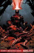 Uncanny X-Men Vol 1 524 Finch Variant Textless
