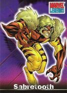 Victor Creed (Earth-616) from Marvel Legends (Trading Cards) 0001
