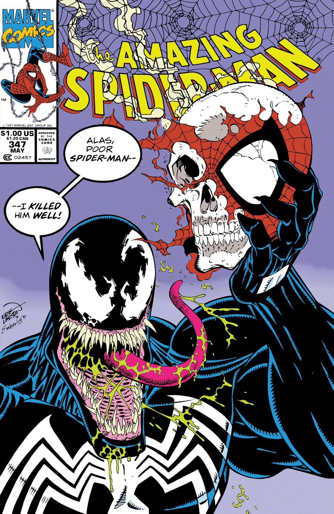 Image result for amazing spiderman 347